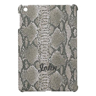 Personalized Snake Skin Print iPad Mini Case