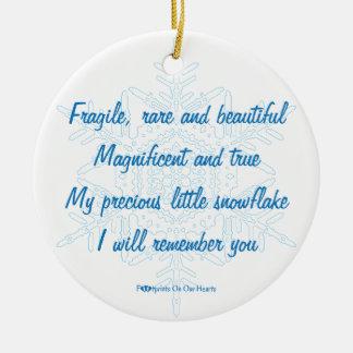 Personalized Snowflake Ornament