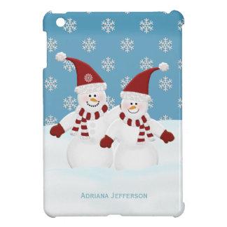 Personalized: Snowman iPad Mini Case