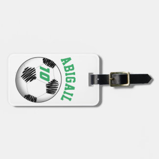 Personalized Soccer Bag Tag