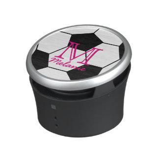 Personalized Soccer Ball Custom Monogram Speaker