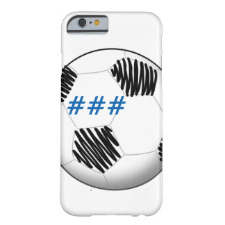 Personalized soccer ball phone case