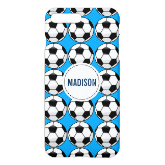 Personalized Soccer Ball with Team Name and Number iPhone 7 Plus Case
