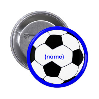 Personalized Soccer  Button