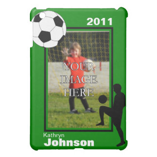 Personalized Soccer  Case For The iPad Mini