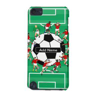 Personalized Soccer football iPod Touch (5th Generation) Case