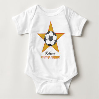 Personalized Soccer Star T Shirt