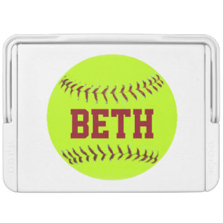 Personalized Softball Cooler Igloo Cool Box