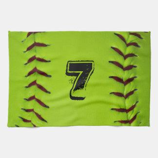 Personalized Softball Towel