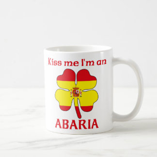 Personalized Spanish Kiss Me I'm Abaria Mugs