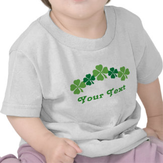 Personalized St Patricks Day Baby Tee