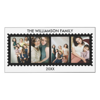 Personalized Stamp Frame Family Photo