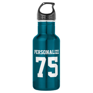 Personalized steel water bottles for sports teams