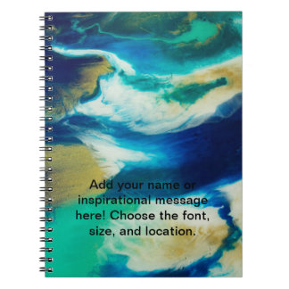 Personalized Stormy Waters Notebook