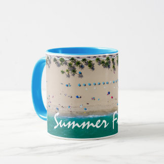 Personalized Summer Forever Beach Sea Sand Custom Mug