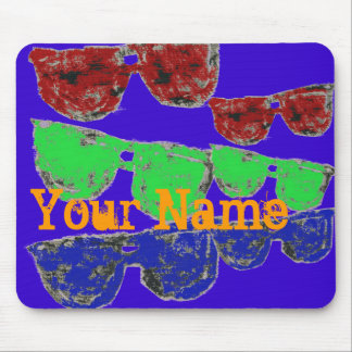 Personalized Sunglasses Mouse pad