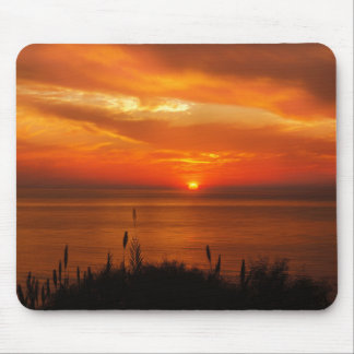 Personalized Sunset Beach Mouse Mat
