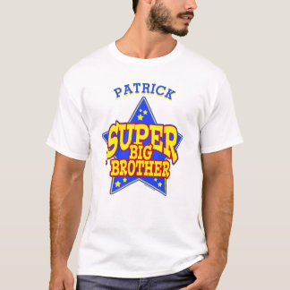 Personalized Super Star Big Brother T-Shirt