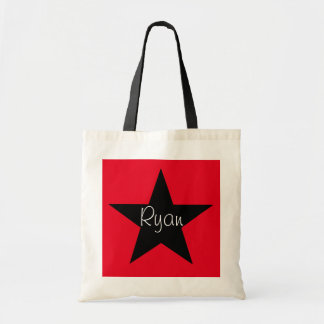 Personalized Super Star Small Tote