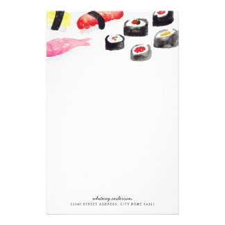 Personalized | Sushi Stationery