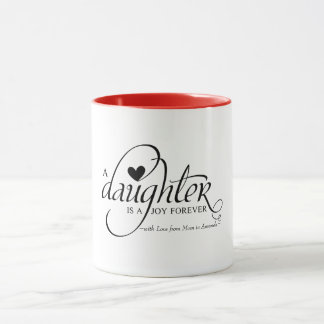 Personalized Sweet Gifts for Daughter Mug