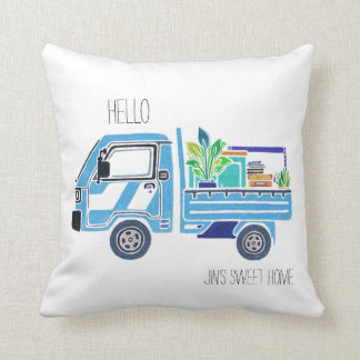 Personalized SWEET HOME Throw Pillow