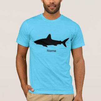 Personalized Swimming Shark T-Shirt