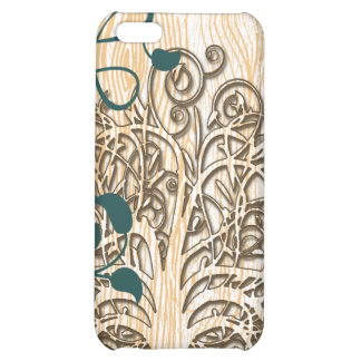 Personalized Swirl Tree Damask iPhone Case Case For iPhone 5C