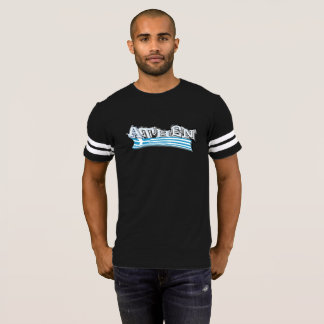"""Personalized T-shirt """"Athens"""" in smoke grey"""
