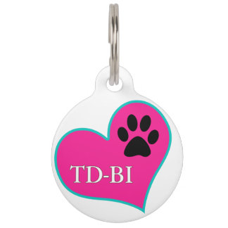 [Personalized Tag] Therapy Dogs Bloomington IL Pet Name Tag