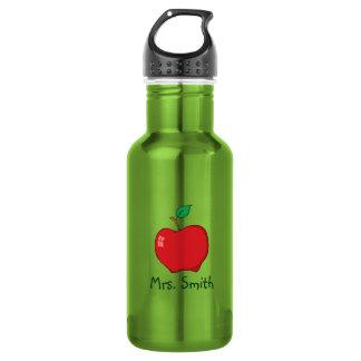 Personalized Teacher Apple Liberty Bottle