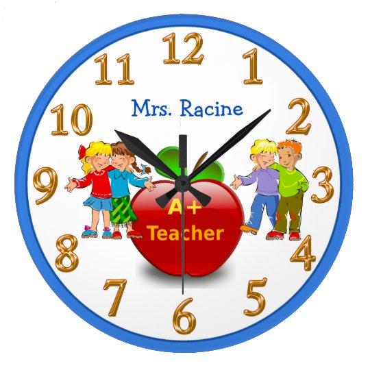 PERSONALIZED Teacher Appreciation Gifts CLOCK