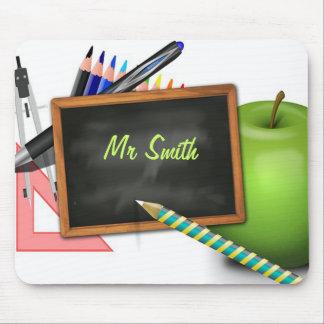Personalized Teacher s Chalkboard Mousepads