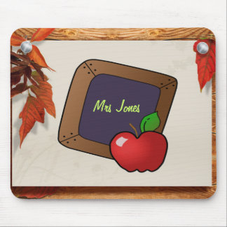 Personalized Teacher s Chalkboard Mouse Pads
