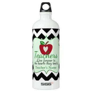 Personalized Teacher Water Bottle SIGG Traveller 1.0L Water Bottle