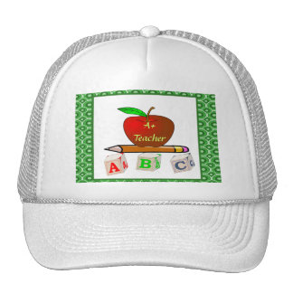 Personalized Teacher's ABC's Hat