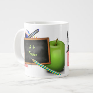 Personalized Teacher's Chalkboard Large Coffee Mug