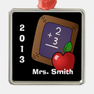 Personalized Teacher's Ornament