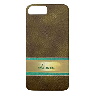 Personalized Teal Sparkle Pattern Case