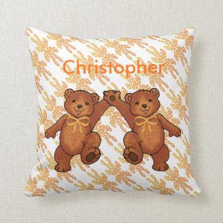 Personalized Teddy Bears Cushion