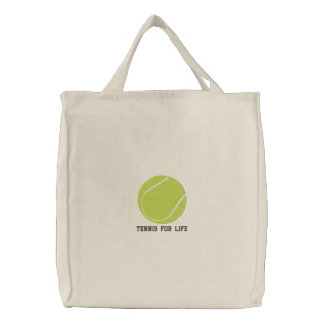 Personalized Tennis Ball embroidered Bag