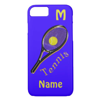 Personalized Tennis iPhone 7 Cases Monogram, Name