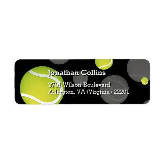 Personalized Tennis | Sport Return Address Label