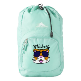 Personalized Terrific Tiger Backpack