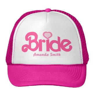 Personalized the bride cap