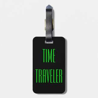 Personalized Time Travel Luggage Tag