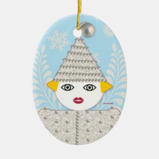 Personalized Tinsel Martzkin Ornament