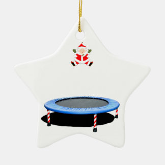 personalized trampoline Christmas gift Christmas Ornament