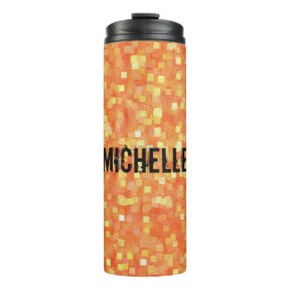 Personalized Trendy Stylish Unique Pattern Thermal Tumbler