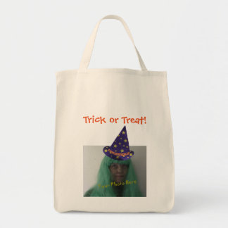Personalized Trick or Treat Halloween Wizard Bags